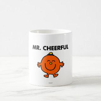 Smiling Mr. Cheerful Classic White Coffee Mug