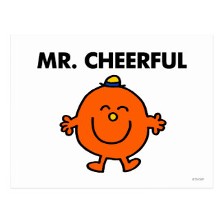 Smiling Mr. Cheerful Postcard