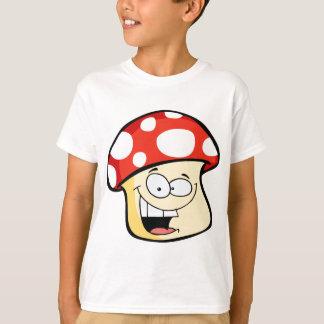 Smiling Mushroom cartoon T-Shirt