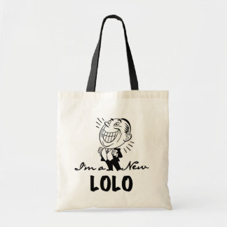 Smiling New Lolo T-shirts and Gifts Budget Tote Bag