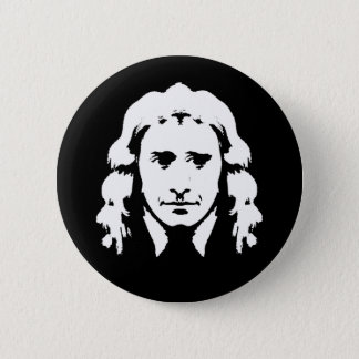 Smiling Newton 2 Inch Round Button