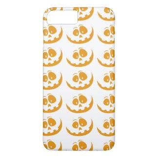 Smiling Orange Jack 'O Lantern Halloween Pumkin iPhone 8 Plus/7 Plus Case