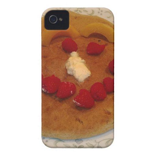 Smiling pancake iPhone4 case