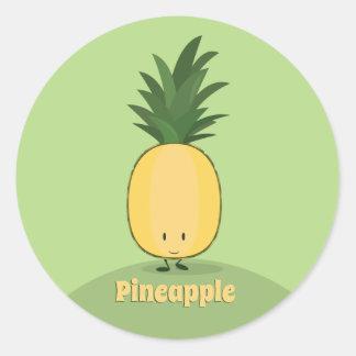 Smiling Pineapple | Sticker