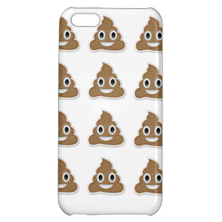 Smiling Poo Emoji Case Cover For iPhone 5C