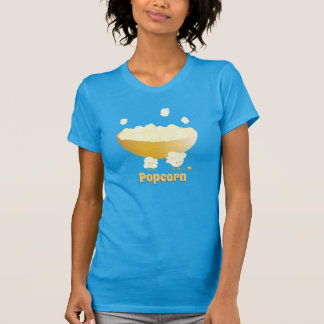 Smiling Popcorn and Bowl | Women's T-shirt
