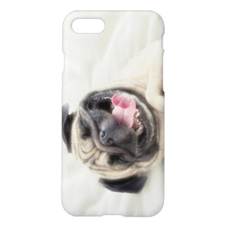 Smiling pug.Funny pug iPhone 7 Case