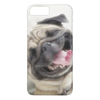 Smiling pug.Funny pug iPhone 7 Plus Case