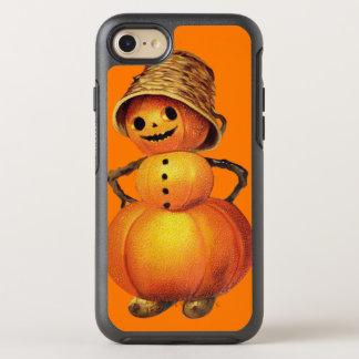 Smiling Pumpkin Snowman Orange OtterBox Symmetry iPhone 8/7 Case