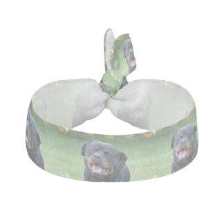 Smiling Rottweiler Hair Tie
