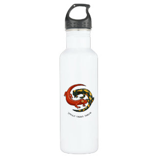 Smiling Salamanders Entwined Personalized Cartoon 710 Ml Water Bottle