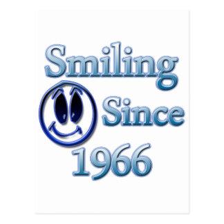 Smiling Since 1966 Postcard