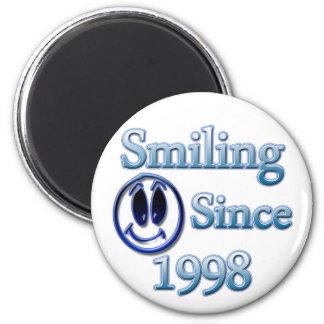 Smiling Since 1998 Magnet