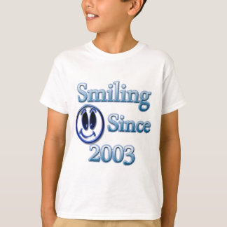 Smiling Since 2003 T-Shirt