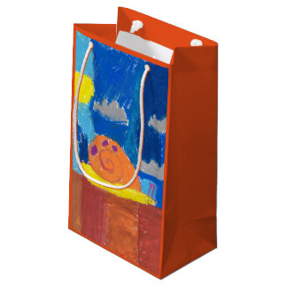 Smiling Snail Small Gift Bag