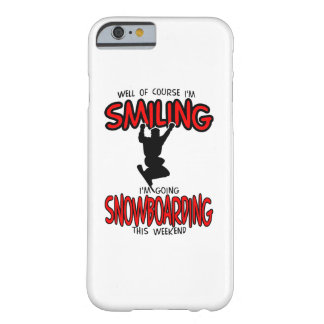 Smiling SNOWBOARDING weekend 2.PNG Barely There iPhone 6 Case