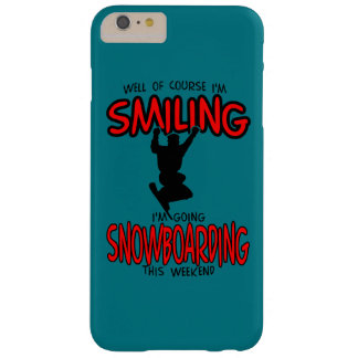 Smiling SNOWBOARDING weekend 2.PNG Barely There iPhone 6 Plus Case