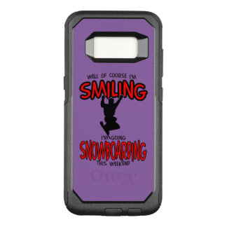 Smiling SNOWBOARDING weekend 2.PNG OtterBox Commuter Samsung Galaxy S8 Case