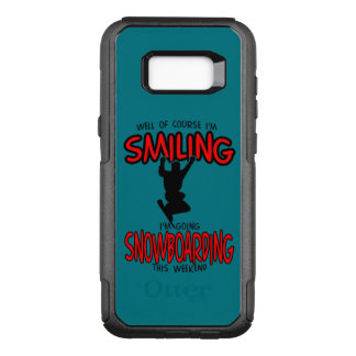 Smiling SNOWBOARDING weekend 2.PNG OtterBox Commuter Samsung Galaxy S8+ Case