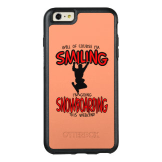 Smiling SNOWBOARDING weekend 2.PNG OtterBox iPhone 6/6s Plus Case