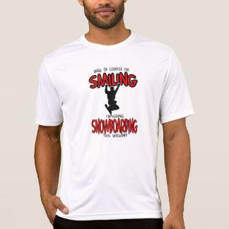 Smiling SNOWBOARDING weekend 2.PNG T-Shirt