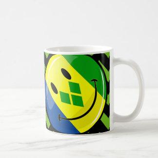Smiling St. Vincent and Grenadines Flag Coffee Mug