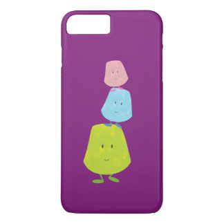 Smiling stack of gumdrops iPhone 7 plus case