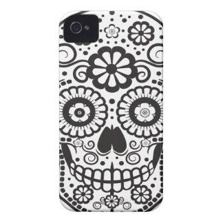 Smiling Sugar Skull iPhone 4 Case-Mate Cases
