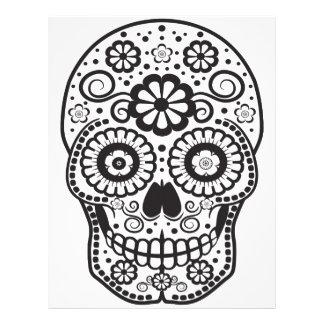 Smiling Sugar Skull Letterhead