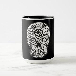 Smiling Sugar Skull Mug