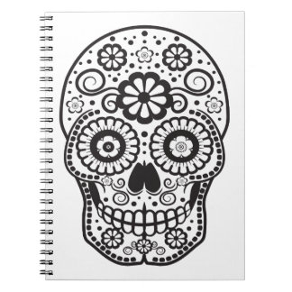 Smiling Sugar Skull Notebook