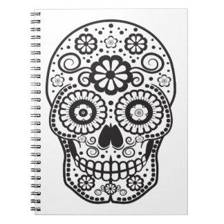 Smiling Sugar Skull Notebooks