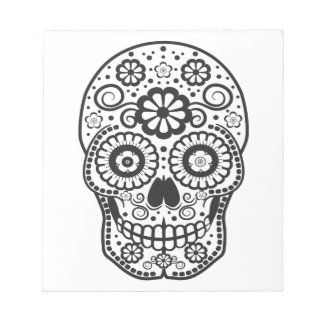 Smiling Sugar Skull Notepad