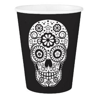 Smiling Sugar Skull Paper Cup
