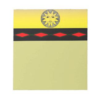 Smiling Sun Notepad
