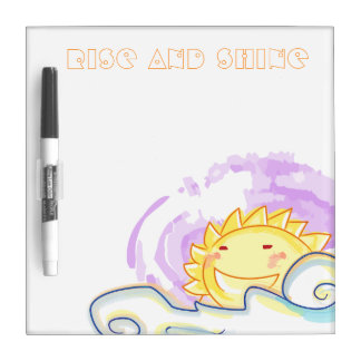 Smiling sunshine chore board dry erase whiteboard