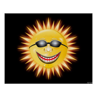 Smiling Sunshine Poster