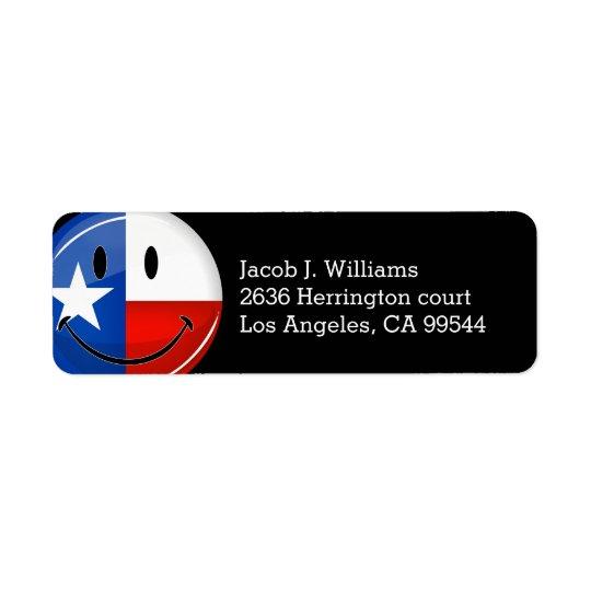Smiling Texas Flag