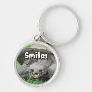 Smiling Turtle Keychain