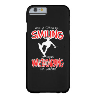 SMILING WAKEBOARDING Weekend 1 WHITE Barely There iPhone 6 Case
