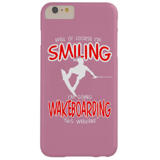 SMILING WAKEBOARDING Weekend 1 WHITE Barely There iPhone 6 Plus Case