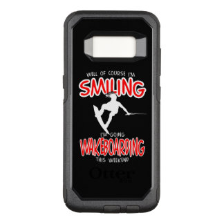 SMILING WAKEBOARDING Weekend 1 WHITE OtterBox Commuter Samsung Galaxy S8 Case