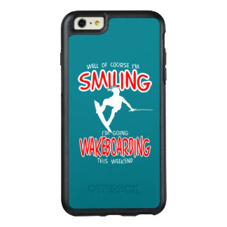 SMILING WAKEBOARDING Weekend 1 WHITE OtterBox iPhone 6/6s Plus Case