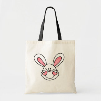 Smiling White Bunny Tshirts and Gifts