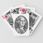 Smiling Winking George Washington Deck of Cards