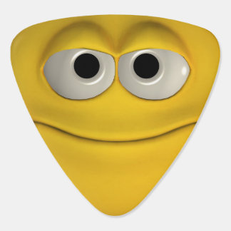 Smiling Yellow Emoticon Pick