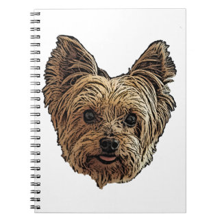 Smiling Yorkie Notebook
