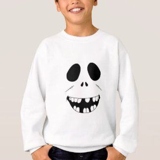 Smiling Zombie Face Sweatshirt