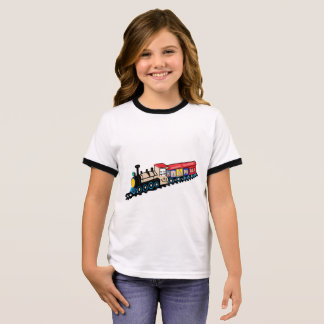 Smily Choo-Choo Train Ringer T-Shirt