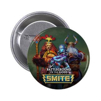 SMITE: Gods 2 Inch Round Button